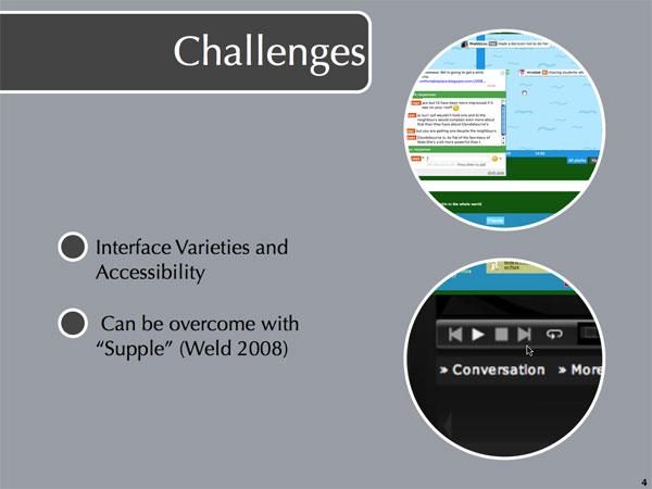 Challenges Slide #1