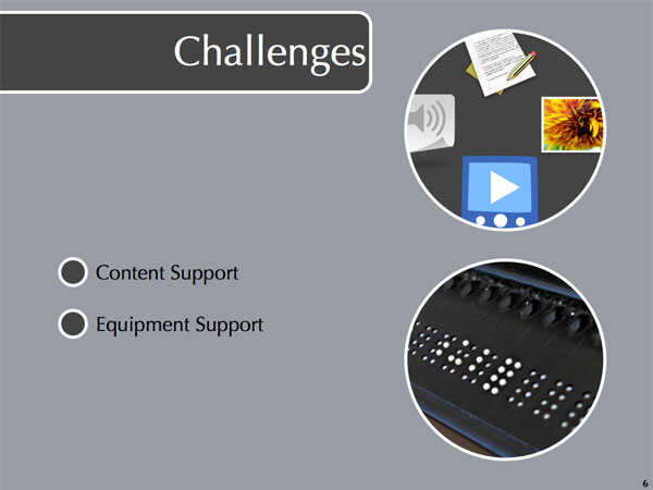 Challenges Slide #3