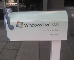 Windows Live Mail mailbox in Redmond, WA