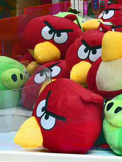 Photo of  many angry birds